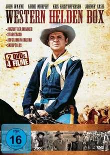 Western Helden Box (4 Filme auf 2 DVDs), 2 DVDs