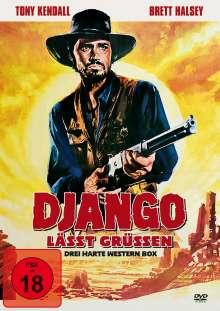 Django lässt grüßen (3 Filme), DVD
