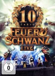 Feuerschwanz: 10 Jahre: Live (Extended Edition), 1 CD und 1 DVD
