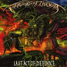 Seasons Of The Wolf: Last Act Of Defiance, CD