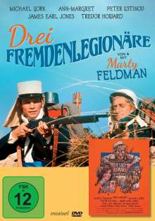 Drei Fremdenlegionäre (1977), DVD