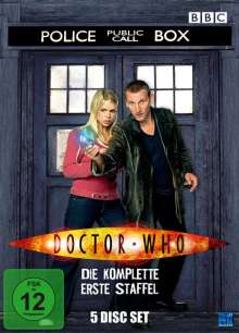 Doctor Who: Die neue Serie Staffel 1, 5 DVDs