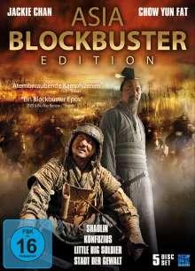 Asia Blockbuster Edition, 5 DVDs