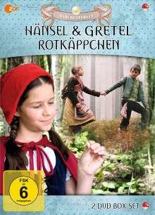 Hänsel & Gretel / Rotkäppchen, 2 DVDs