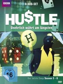 Hustle - Unehrlich währt am längsten Season 5-8, 8 DVDs