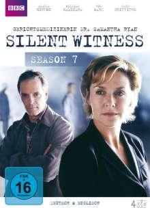 Silent Witness Season 7: Gerichtsmedizinerin Samantha Ryan, 4 DVDs