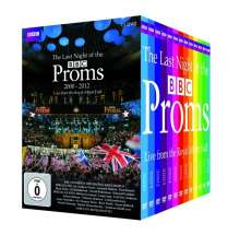 The Last Night of the BBC Proms 2000-2012, 13 DVDs