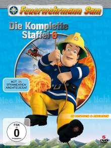 Feuerwehrmann Sam - Die komplette Staffel 6, 5 DVDs