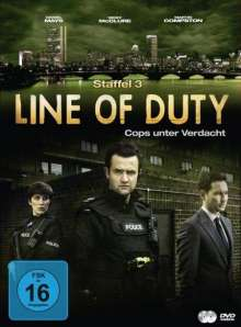 Line of Duty Staffel 3, 3 DVDs