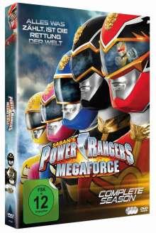 Power Rangers: Megaforce (Komplette Serie), 3 DVDs