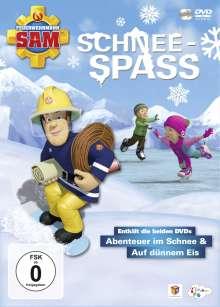 Feuerwehrmann Sam - Schneespass (Abenteuer im Schnee / Auf dünnem Eis), 2 DVDs
