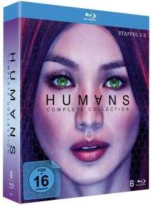 Humans (Komplette Serie) (Blu-ray), 6 Blu-ray Discs