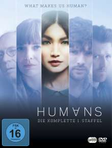 Humans Staffel 1, 3 DVDs