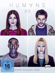 Humans Staffel 2, 3 DVDs