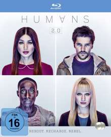 Humans Staffel 2 (Blu-ray), 2 Blu-ray Discs