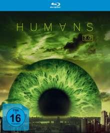 Humans Staffel 3 (finale Staffel) (Blu-ray), 2 Blu-ray Discs