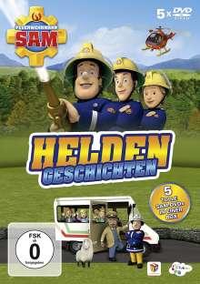 Feuerwehrmann Sam - Heldengeschichten, 5 DVDs