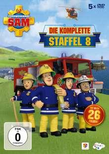 Feuerwehrmann Sam - Die komplette Staffel 8, 5 DVDs