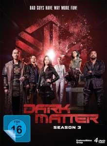 Dark Matter Staffel 3 (finale Staffel), 4 DVDs