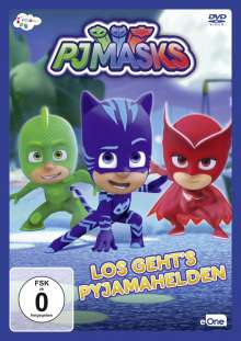 PJ Masks - Pyjamahelden Vol. 2: Los geht's Pyjamahelden, DVD