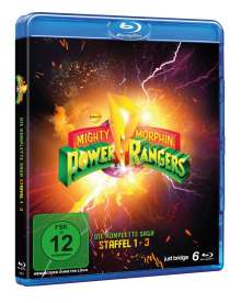 Power Rangers: Mighty Morphin (Komplette Serie) (SD on Blu-ray), 6 Blu-ray Discs