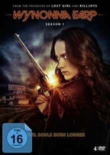 Wynonna Earp Season 1, 4 DVDs