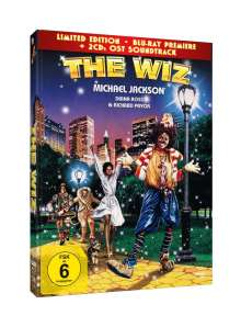 The Wiz (Blu-ray im Mediabook inkl. Soundtrack), 3 DVDs