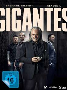 Gigantes Staffel 1, 2 DVDs