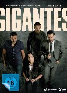 Gigantes Staffel 2, 2 DVDs
