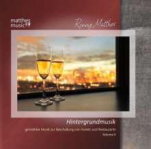 Ronny Matthes: Hintergrundmusik (Vol.9): GEMA-freie Klaviermusik, CD