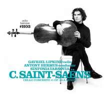 Camille Saint-Saens (1835-1921): Cellokonzert Nr.1, CD