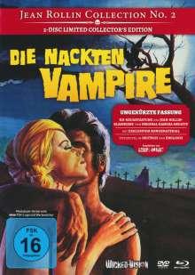 Die nackten Vampire (Blu-ray & DVD im Mediabook), 1 Blu-ray Disc und 1 DVD