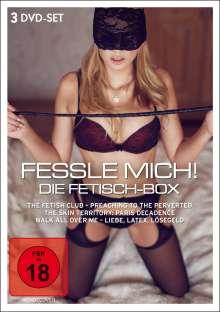 Fessle mich! Die Fetisch-Box, 3 DVDs
