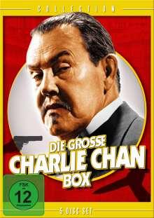 Die große Charlie Chan Box, 5 DVDs
