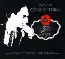Yannis Constantinidis (1903-1984): 30 Songs, CD