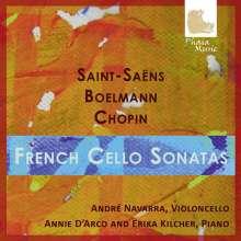 Andre Navarra - French Cello Sonatas, 2 CDs