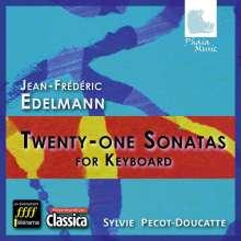 Johann-Friedrich Edelmann (1749-1794): Cembalo- und Klaviersonaten, 3 CDs