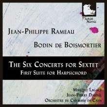 Jean Philippe Rameau (1683-1764): Concerts en Sextuor Nr.1-6, CD