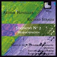Arthur Honegger (1892-1955): Symphonie Nr.2, CD