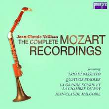 Wolfgang Amadeus Mozart (1756-1791): Klarinettenkonzert KV 622, 5 CDs