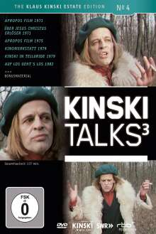 Kinski Talks 3, DVD
