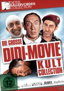 Die grosse Didi-Movie Kult Collection, 6 DVDs