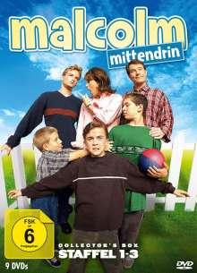 Malcolm Mittendrin Staffel 1-3, 9 DVDs