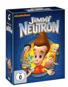 Jimmy Neutron (Komplette Serie - Limited Edition), 9 DVDs