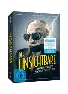 Der Unsichtbare (Komplette Collection) (Blu-ray & DVD), 6 DVDs und 2 Blu-ray Discs