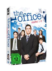 The Office (US) Season 1-3, 9 DVDs