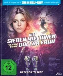 Die sieben Millionen Dollar Frau (Komplette Serie) (SD on Blu-ray), 3 Blu-ray Discs