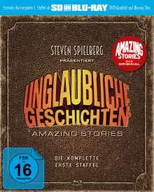 Unglaubliche Geschichten - Amazing Stories Season 1 (SD on Blu-ray), Blu-ray Disc