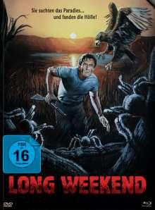 Long Weekend (Blu-ray & DVD im Mediabook), Blu-ray Disc