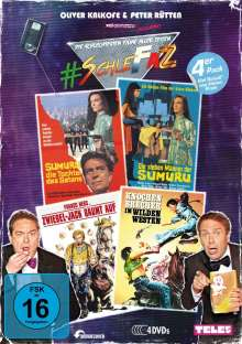 #SchleFaZ Value Pack: Sumuru / Sumuru 2 / Zwiebel-Jack / Knochenbrecher, 4 DVDs